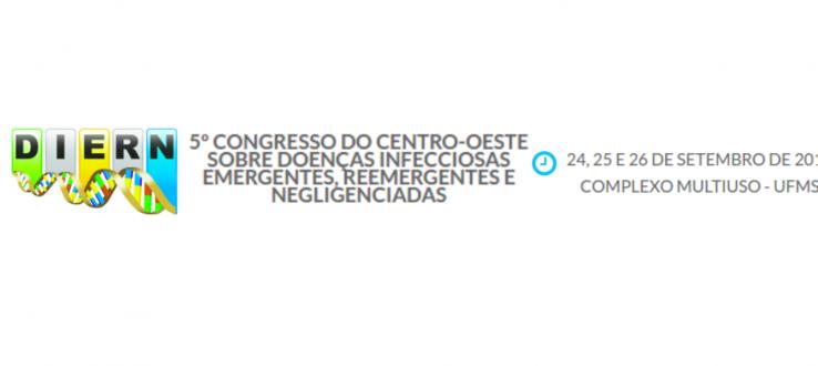 5º Congresso Centro-Oeste de Doenças Infecciosas Emergentes, Reemergentes e Negligenciada: 24 a 26 de Setembro